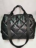 Новый стиль Женские сумка дутики стеганная на плечо/Дутая Сумка женская спортивная только оптом, фото 4