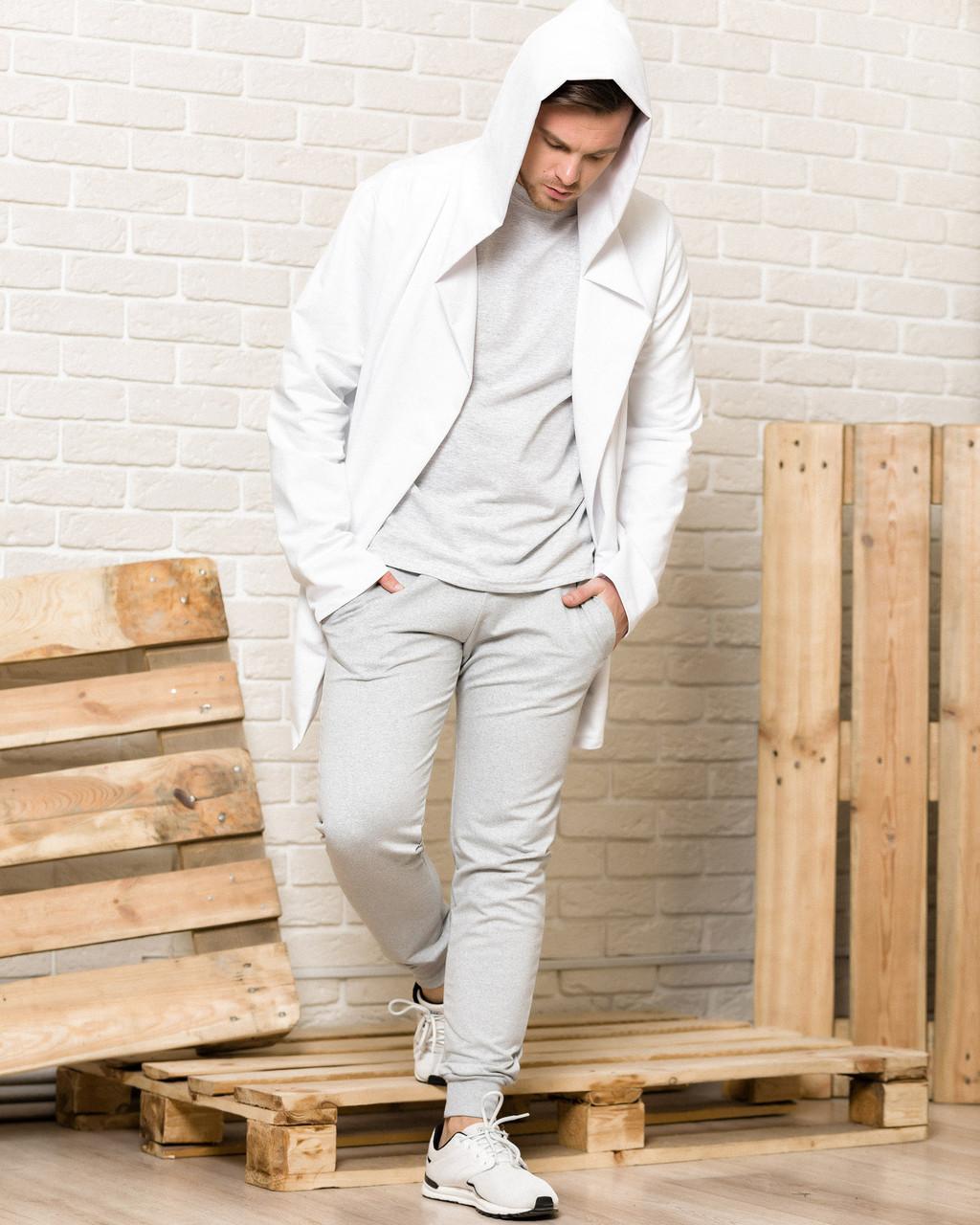 Мантия с капюшоном мужская WB размер S белая
