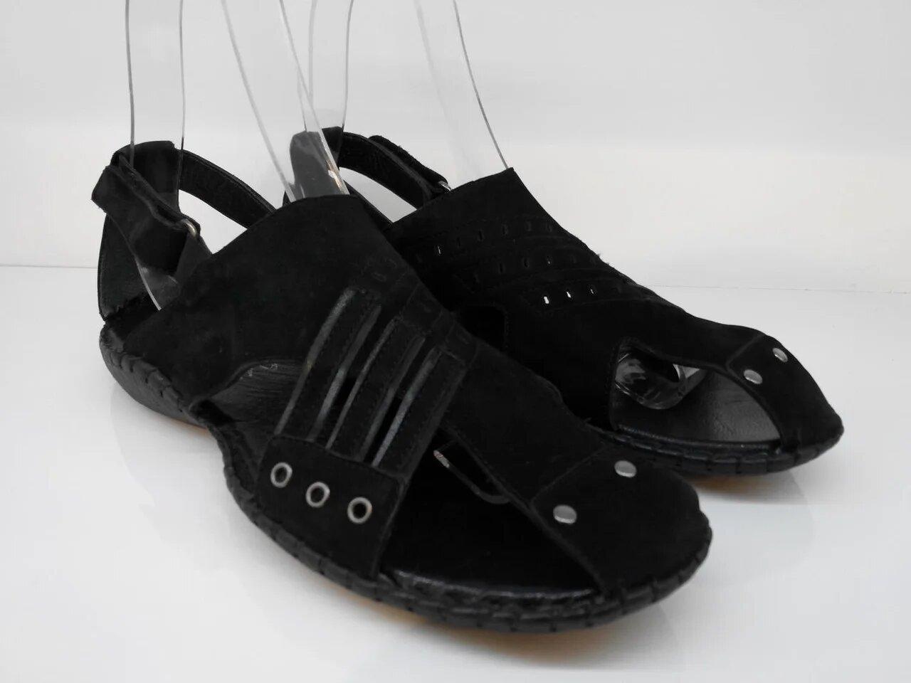 Сандалії Etor 656-3910 чорний