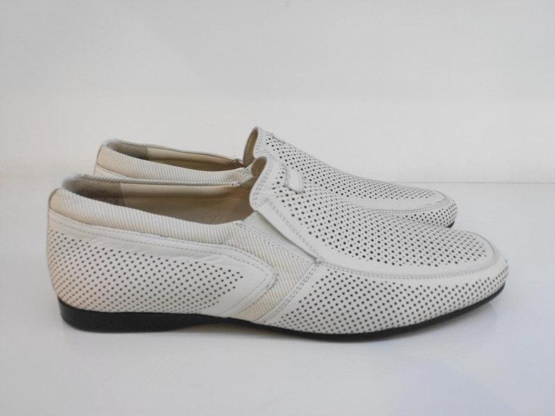 Мокасини Etor 13647-7076-001 білий