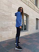 Женский спортивный костюм Адидас синий, коралловый 42, 44, 46