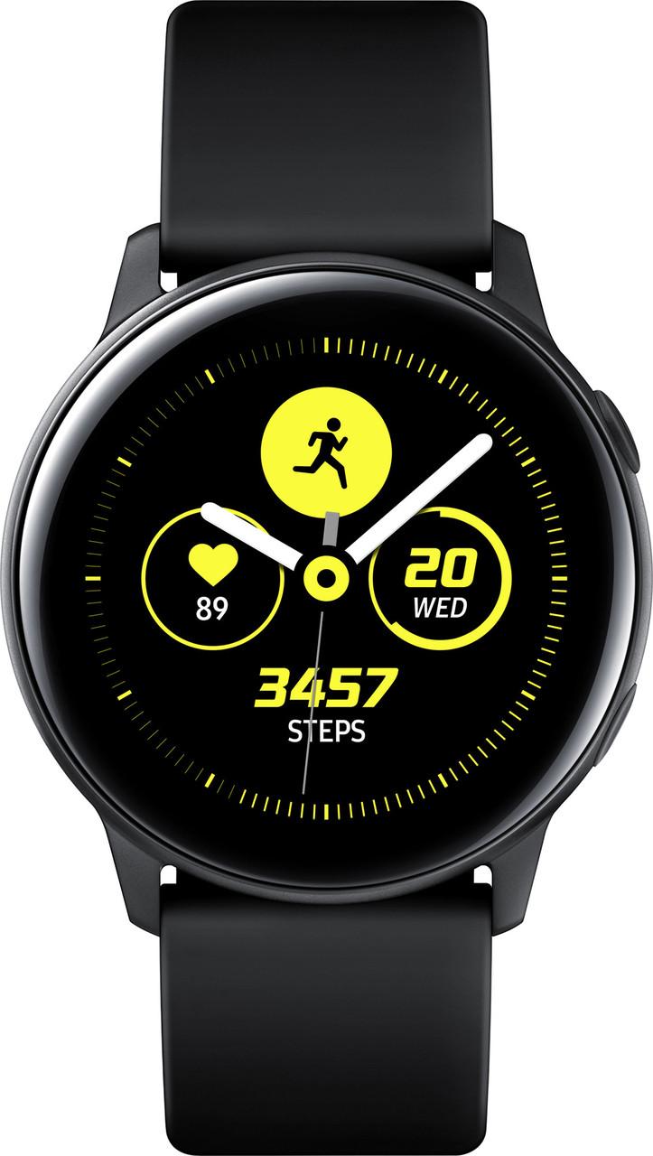Смарт часы Samsung Galaxy Watch Active (SM-R500NZKASEK) Black (6464158)