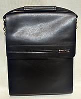 Сумка-планшет через плечо с кожаным клапаном