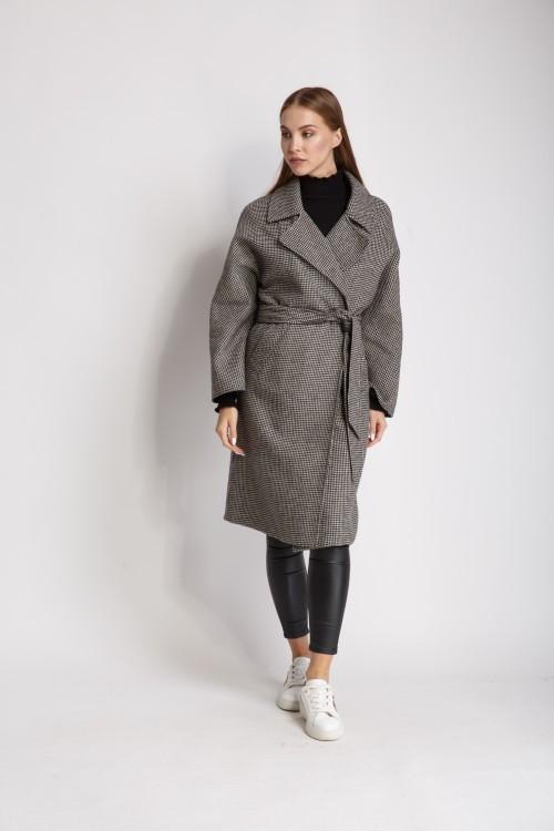 Пальто FALAPU 40 Серое (72552)