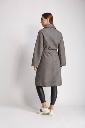 Пальто FALAPU 40 Серое (72552), фото 2
