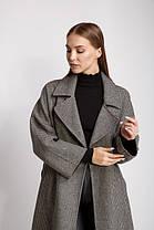 Пальто FALAPU 40 Серое (72552), фото 3