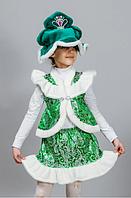 Новогодний костюм Ёлочка из парчи