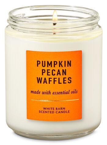 Ароматизированная свеча Pumpkin Pecan Waffles Bath & Body Works