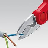 Ножницы электрика KNIPEX 95 05 155 SB, фото 5