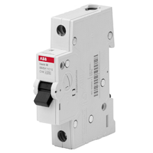 Автоматичний вимикач ABB Basic M BMS411B10 1P 10A B