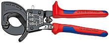Кабелерез с рычажным механизмом KNIPEX, 95 31 250