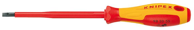 Отвертки для винтов с шлицевыми головками KNIPEX 98 20 10