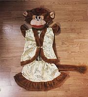 Карнавальный костюм Мартышка из парчи