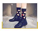 Круті шкарпетки з яскравим принтом носки с едой, фото 2