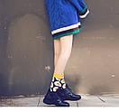 Круті шкарпетки з яскравим принтом носки с едой, фото 3
