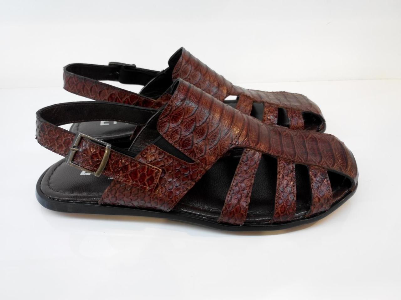 Сандалії Etor 561-3715 коричневий