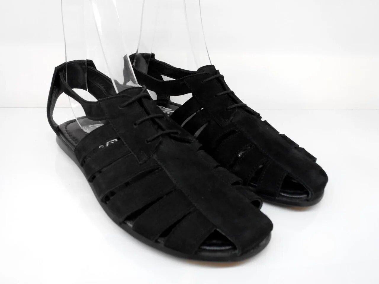 Сандалії Etor 612-3715 чорний