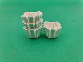 """Тартолетка для кексів""""Квадратна біла""""(20*20*20) (100шт)/К-20/ (1 уп.)"""