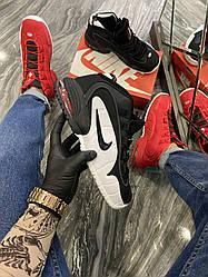 Чоловічі кросівки Nike Air Uptempo Black (чорні)