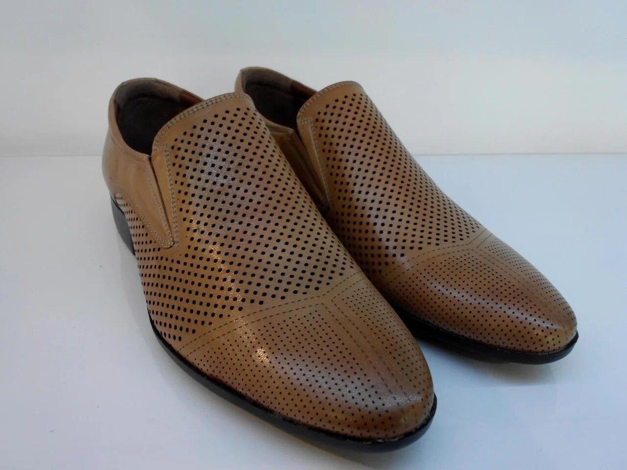 Туфлі Etor 12634-90 рудий