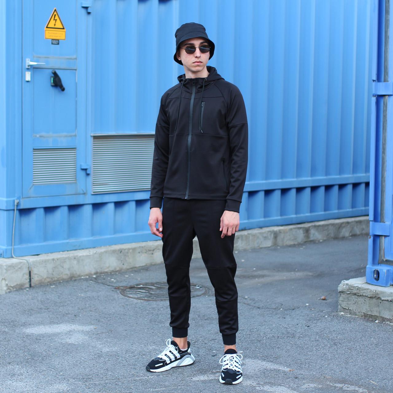 Спортивный костюм мужской черный Актив  размер: XS, S, M, L, XL