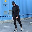 Спортивный костюм мужской черный Актив  размер: XS, S, M, L, XL, фото 3
