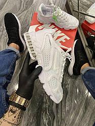 Чоловічі кросівки Nike Air Zoom Spiridon Cage 2 Stussy White (білий)