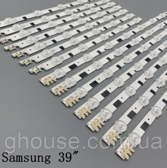LED підсвічування телевізора UE39F5000AK UE39F5500AK UE39F5300AK підсвічування D2GE-390SCA-R3