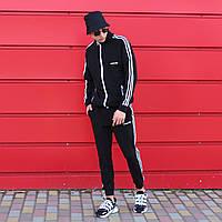 Cпортивные штаны мужские чёрные Адидас adidas размер: XS, S, M, L, XL