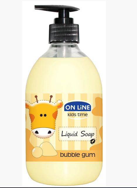 Детское жидкое мыло On Line