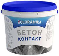 Адгезійна грунтовка Бетон-контакт Колораміка 6 кг