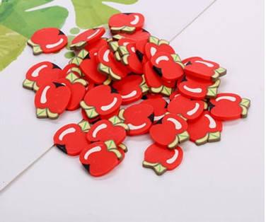 Фимо «Яблоки» для слайма, фото 2