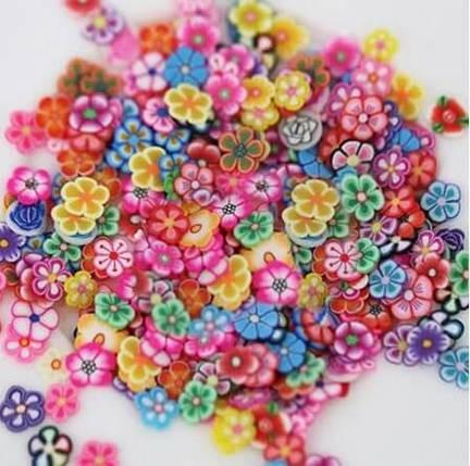 Фимо «Цветы» для слайма, фото 2