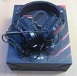 Навушники ігрові з підсвічуванням і мікрофоном Havit HV-H2168d, фото 2