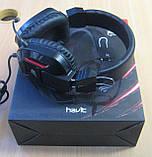 Навушники ігрові з підсвічуванням і мікрофоном Havit HV-H2168d, фото 3