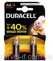 Батарейка DURACELL R-6 (АА) (ПАЛЬЧИК) БЛИСТЕР 12шт. / Уп. (10474)