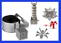 Магнитный конструктор головоломка Неокуб , Neocube 216 магнитов 5 мм, магнитные шарики+++Подарок