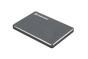 """Накопитель внешний HDD 2.5"""" USB 1.0TB Transcend StoreJet 25C3 Iron Gray (TS1TSJ25C3N), фото 2"""
