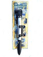 Насос ручной Giyo GP-91 алюминий c манометром  для велосипеда