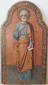 Икона апостола Петра 19 век