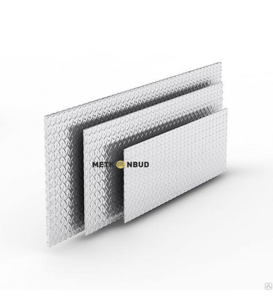 Алюминиевый лист рифленый 4х1500х4000 мм