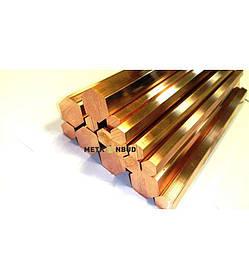 Шестигранник медный М1 10 мм