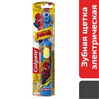 Електрична зубна щітка дитяча м'яка Colgate Spiderman