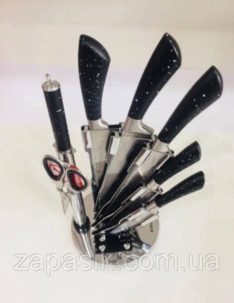 Набор Ножей На Подставке Vissner 37012 Из Нержавеющей Стали 8 Предметов