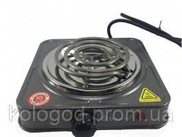 Електрична Плита Спіральна Однокомфорочная Domotec MS-5801 Потужність 1000W