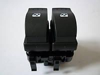 Переключатель стеклоподъёмника, 2 кнопки на Renault Trafic с 2001... Renault (оригинал),