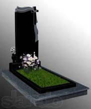 Пам'ятники з граніту під замовлення (Зразок №120)