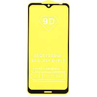 Защитное стекло AVG 9D Full Glue для Nokia 7.2 полноэкранное черное