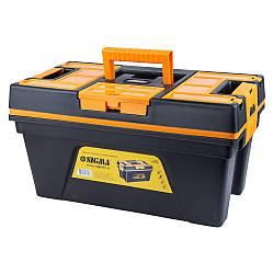 Ящик для ручного инструмента со съёмной крышкой 460×246×246мм Sigma (7403701)