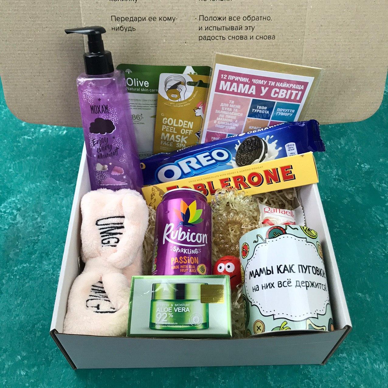 Подарочный Набор City-A Box Бокс для Женщины Мамы из 14 ед №2873